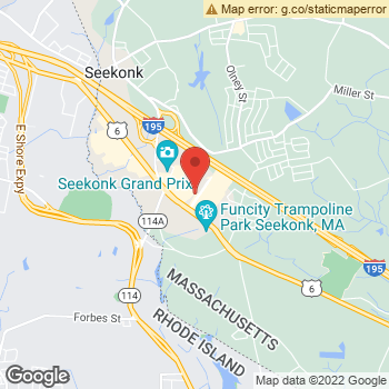 Map of Dr. Kate Marmelo and Dr. Joseph Tarantino at 20 Commerce Way, Seekonk, MA 02771