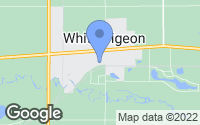Map of White Pigeon, MI