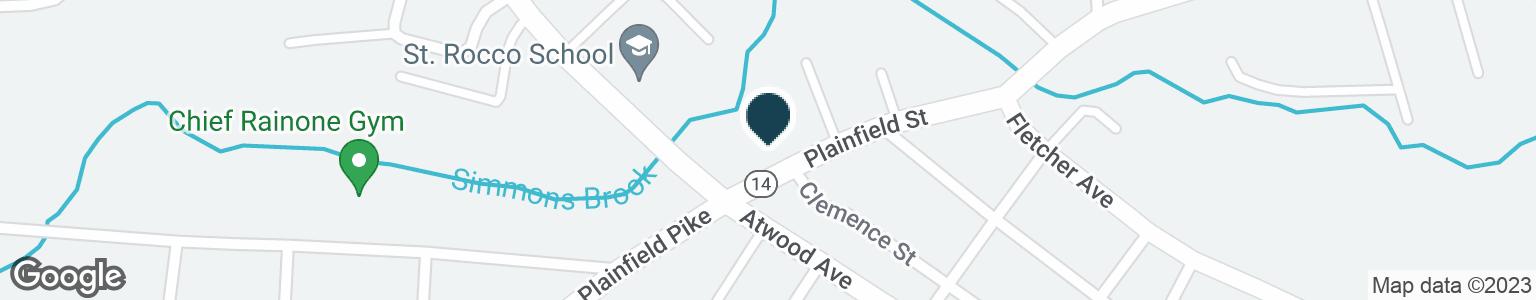 Google Map of1387 PLAINFIELD ST