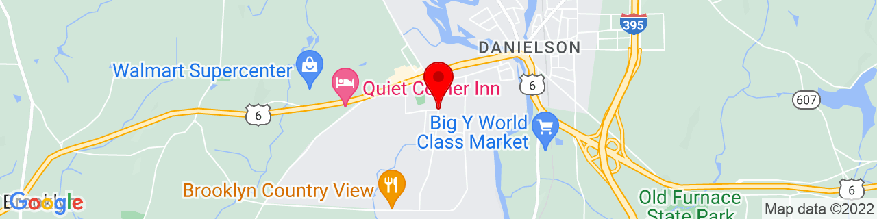 Google Map of 41.7967653, -71.8972946