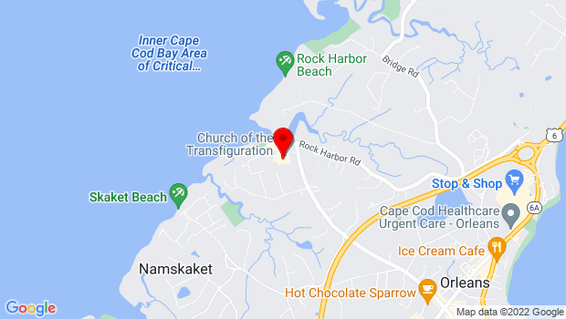 Google Map of 5 Bay View Drive, Orleans, MA 02653