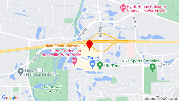 Google Map of 28250 Diehl Road, Warrenville, IL 60555