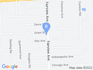 Map of Woods Wags & Wiggles Pet Service Dog Boarding options in Downers Grove | Boarding