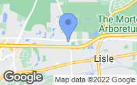 Map of Lisle, IL