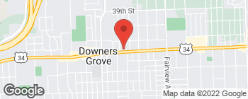 Map of 800 Ogden Ave in Downers Grove