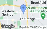 Map of La Grange, IL