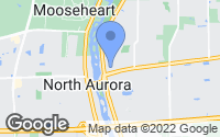 Map of North Aurora, IL