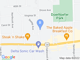 Map of Belle Aire Kennels & Grooming Dog Boarding options in Downers Grove | Boarding