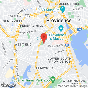Map of Rite Aid at 500 Broad Street, Providence, RI 02907