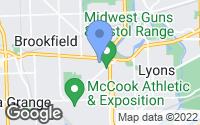 Map of Lyons, IL