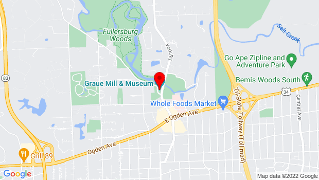 Google Map of 3800 York Road, Oak Brook, IL 60523