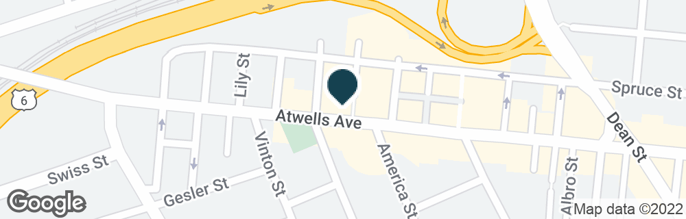 Google Map of333 ATWELLS AVE