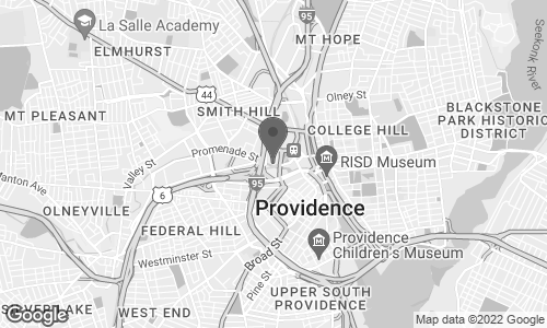 Map of 1 Providence Pl. in Providence