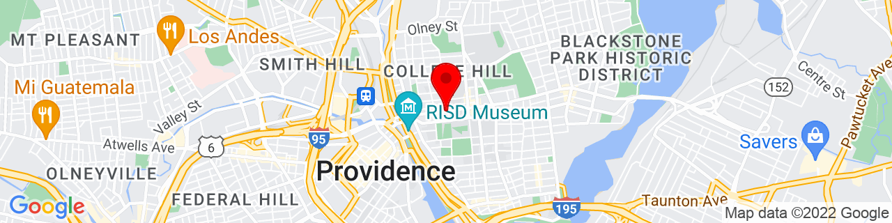 Google Map of 41.8278584, -71.4034216