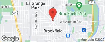 Map of 3449 Grand Blvd in Brookfield