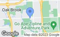Map of Oak Brook, IL