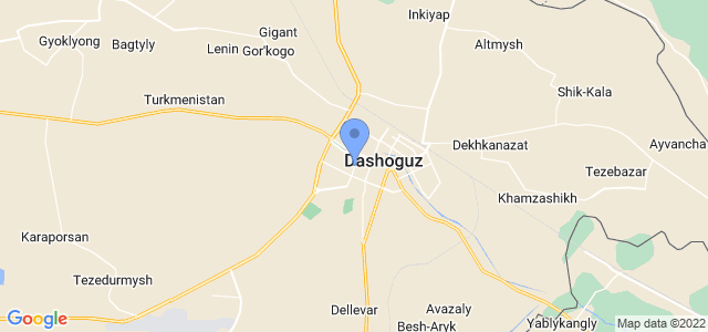 Aba Travel Dashoguz on map