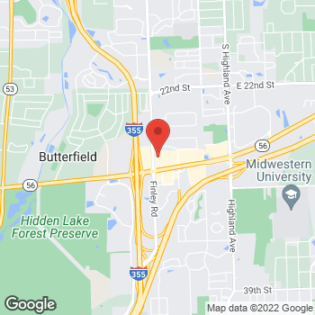 Map of buybuy BABY at 1556 Butterfield Road, Downers Grove, IL 60515