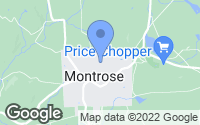Map of Montrose, PA