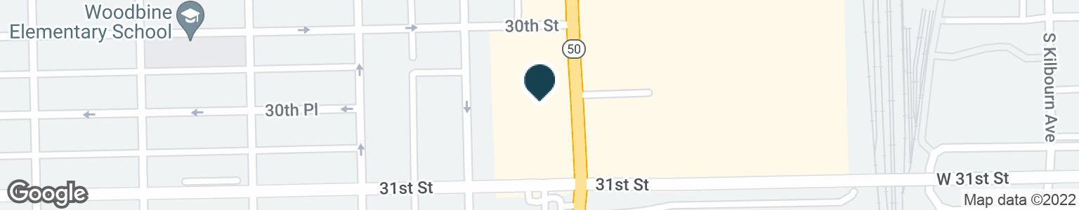 Google Map of3040 S CICERO AVE