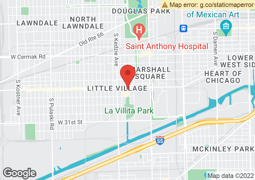 Google Map of 3045 W 26TH ST