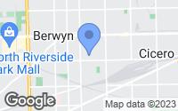Map of Berwyn, IL