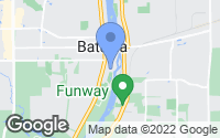Map of Batavia, IL