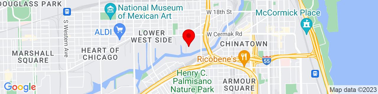 Google Map of 41.85, -87.65