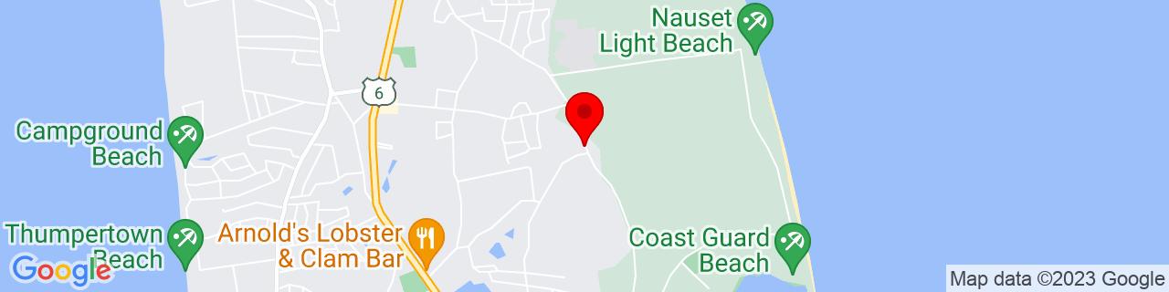 Google Map of 41.85238349999999, -69.96779599999999