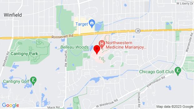 Google Map of 26W171 Roosevelt Road, Wheaton, IL 60187