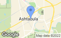 Map of Ashtabula, OH