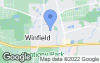 Map of Winfield, IL