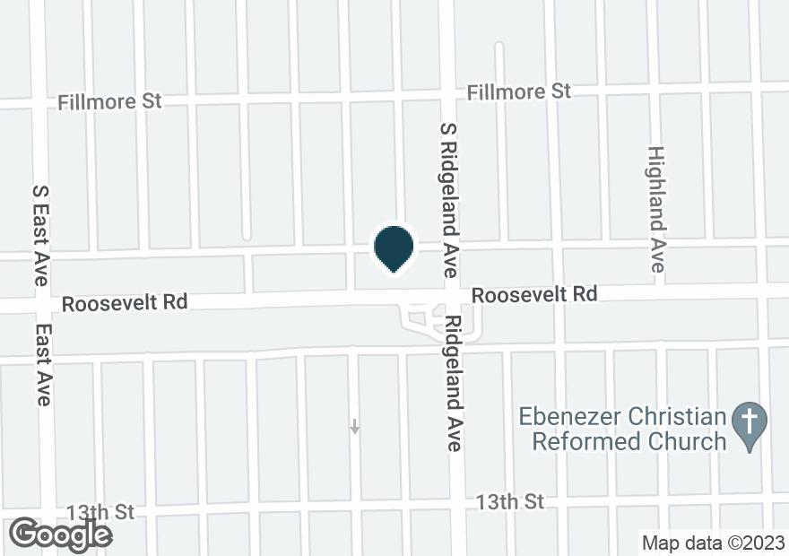 Google Map of6412 ROOSEVELT RD