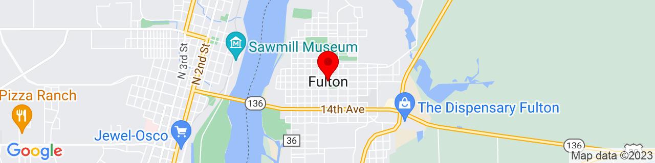 Google Map of 41.8672508, -90.1595705