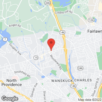 Map of Check `n Go at 1375 Mineral Spring Ave, North Providence, RI 02904