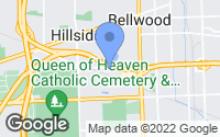 Map of Hillside, IL