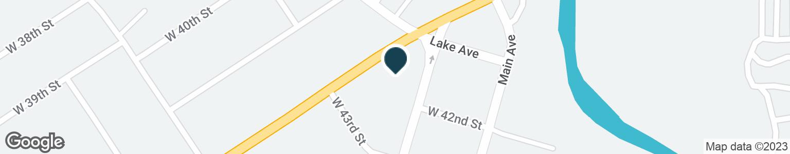 Google Map of318 W PROSPECT RD