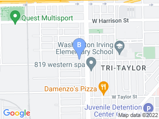 Map of Blair Canine Care Dog Boarding options in Chicago | Boarding