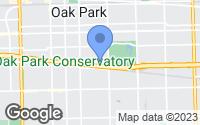 Map of Oak Park, IL