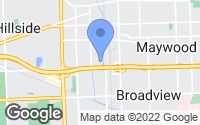 Map of Bellwood, IL