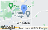 Map of Wheaton, IL