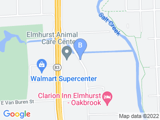 Map of The Fine Canine Dog Training Boarding   Animal R Dog Boarding options in Elmhurst | Boarding