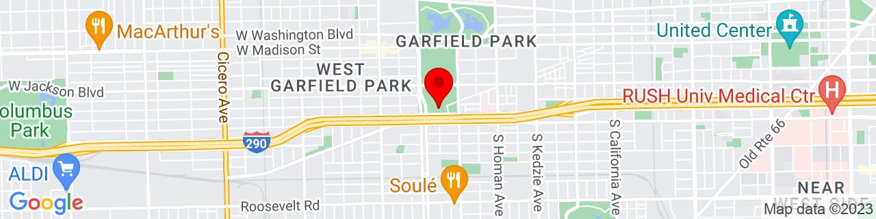Google Map of 41.8749913, -87.7182333