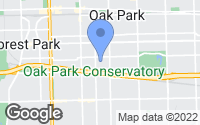 Map of Oak Park, IL