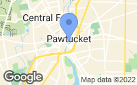 Map of Pawtucket, RI
