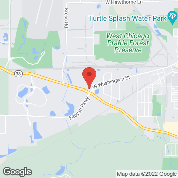 Map of Speedy Café at 1501 W Roosevelt Rd, West Chicago, IL 60185