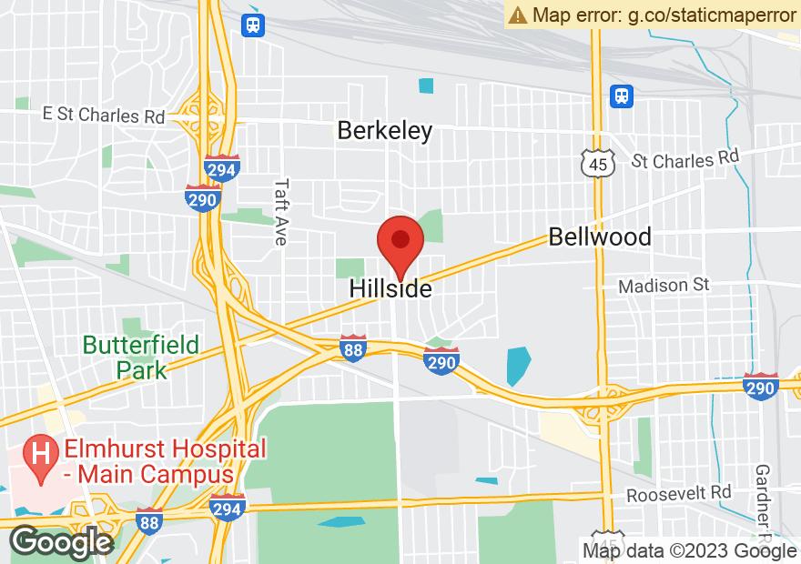 Google Map of 4730 BUTTERFIELD RD
