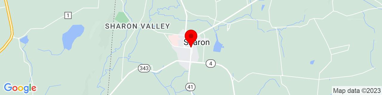 Google Map of 41.8793754, -73.4768697