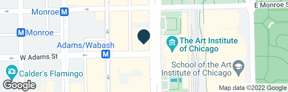 Google Map of122 S. MICHIGAN AVE