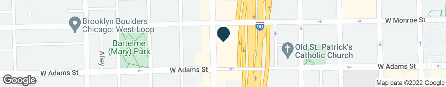 Google Map of111 S HALSTED ST